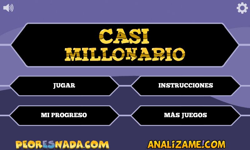 Juego Quien Quiere Ser Millonario Nueva Version Jugar Casi